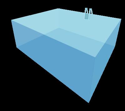 Exe for Cuantos litros de agua caben en una piscina